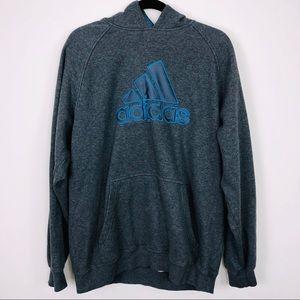Adidas Grey Hoodie Size Large